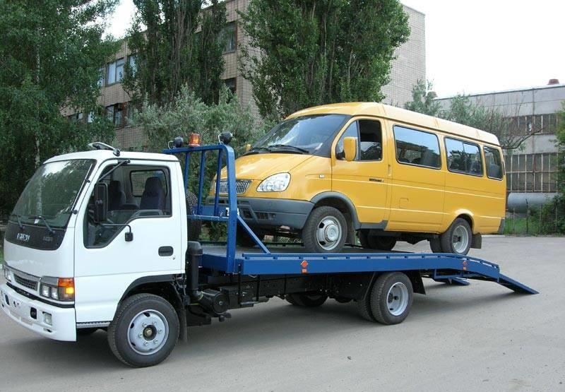 Заказать эвакуатор легковых автомобилей